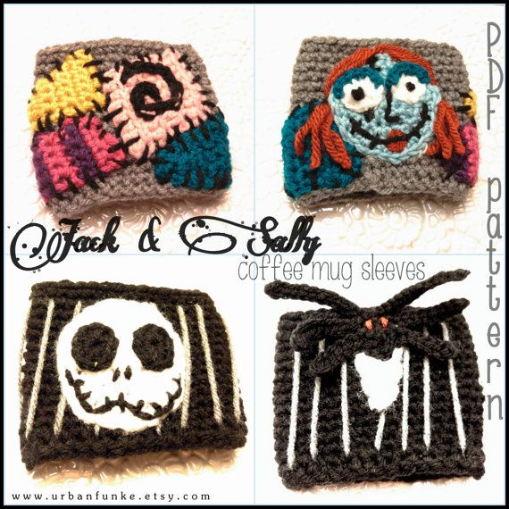 Crochet Patterns Nightmare Before Christmas : ?ver 1000 idEer om Fingerl?sa Vantar p? Pinterest Vantar, Vantar ...