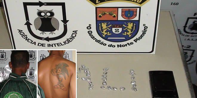 Apreensão de drogas em Cambará - http://projac.com.br/noticias/apreensao-drogas-cambara.html