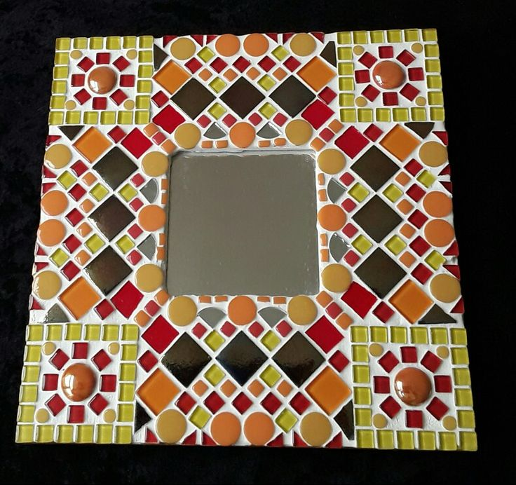 "Mosaic mirror available from my Etsy shop ""mosaicsbyjat"""