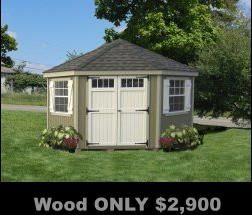 Storage Sheds, Garages, Outdoor buildings, FREE shipping, No Sales Tax, No Interest Financing, ADD to Amazon cart for DEALS