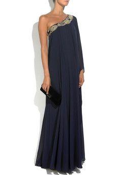 Os vestidos longos