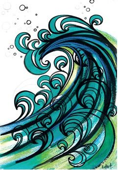 waves. This is what I was trying to achieve when we were at the beach. Mine looked NOTHING like this. This is AWESOME!!!