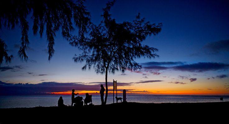 Flic en Flac, Mauritius.
