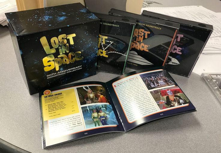 Lost In Space 50th Anniversary 12-CD + 104-Page Booklet Soundtrack Collection featuring music by John Williams and more-La-La Land Records, Synthesis Entertainment and Legendary Pictures proudly present Lost In Space: 50th Anniversary Soundtrack Collectio