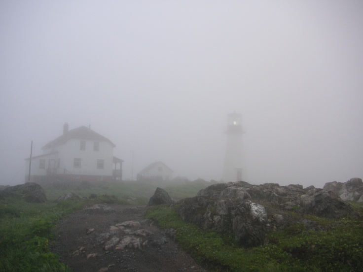 Quirpon Island in the fog