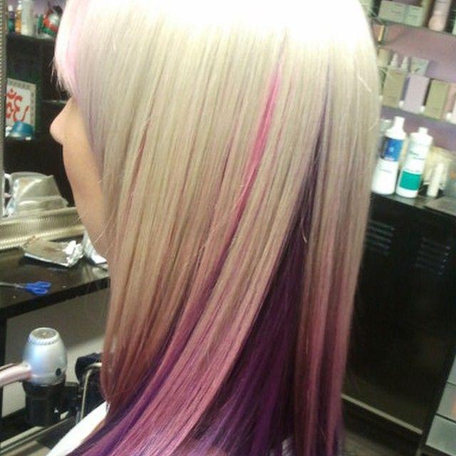 best 25 underneath hair colors ideas on pinterest dyed