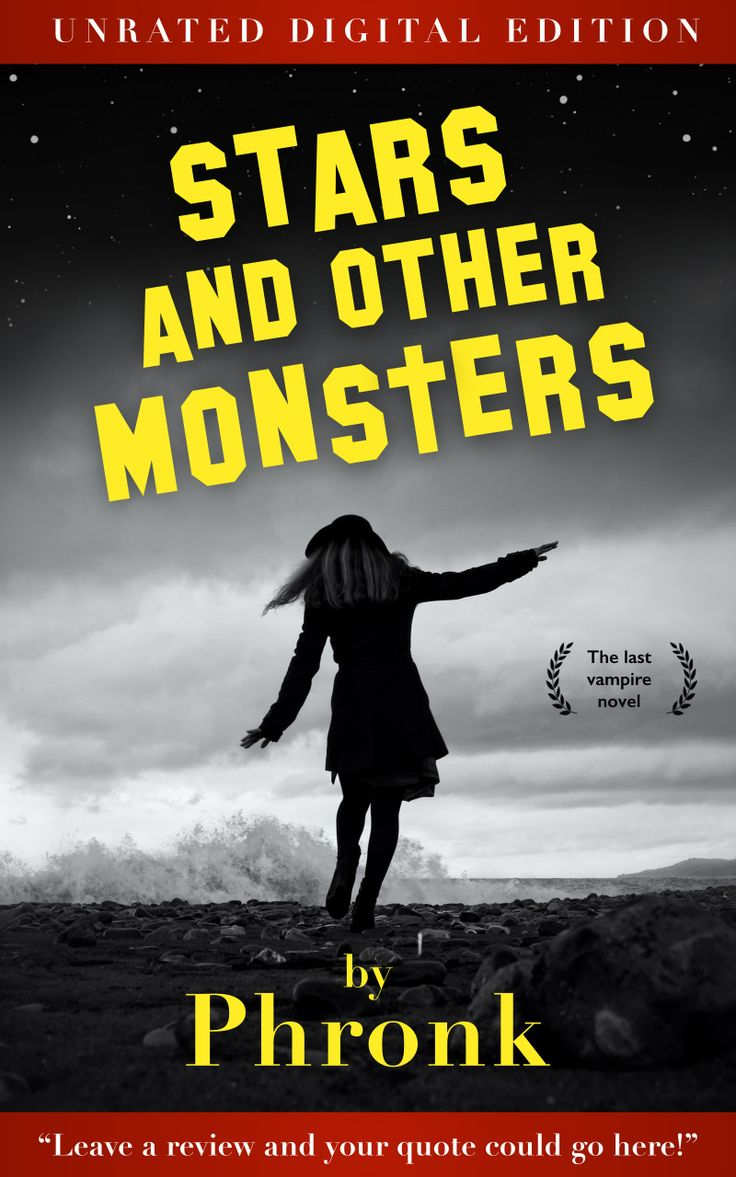 The Kindle version of my debut novel, Stars and Other Monsters, is out now. It's about a papapazzo and his dog getting kidnapped by a vampire with a celebrity obsession. Simultaneously a parody of and tribute to crappy vampire romance novels, it's a fast-paced read that fans of urban fantasy and haters of urban fantasy will both enjoy. Get the Kindle version here: http://amzn.com/B00KXB1744