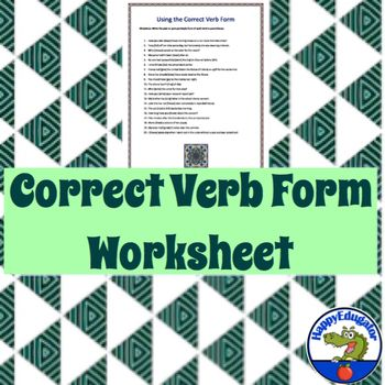 grammar and correct usage test pdf