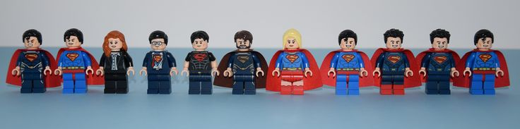 All the Superman excepted SDCC, Comic Con : Bizarro and Black suit. I prefer the air from Lego Dimensions for Supergirl, because other are not very cool. Original picture by me