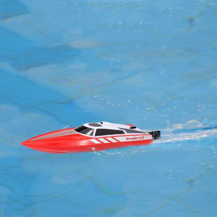 Volantex Vector28 795-1 2.4GHz 30km/h RC Racing Boat - red - Tomtop.com