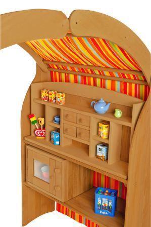 Kinder-Spielständer Waldorf-Spielhaus Erle 1010