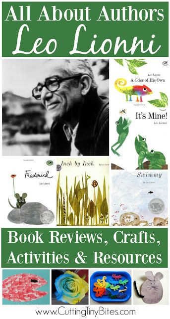 All About Authors: Leo Lionni. Book list, activities, biographical information, and resources for this 4-time Caldecott recipient, best known for Frederick and Little Blue and Little Yellow.