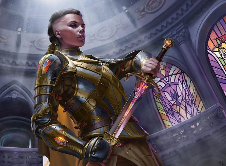 andro-womeninarmor:   MTG Dominaria Art by Chris... - Do It Party People