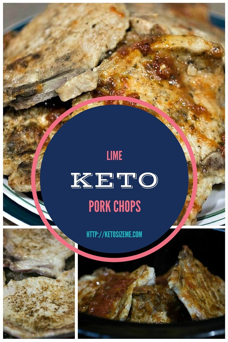 Check out Keto Lime Pork Chops (Crock Pot Meals). It's so easy to make! | Pork, Keto and Meals