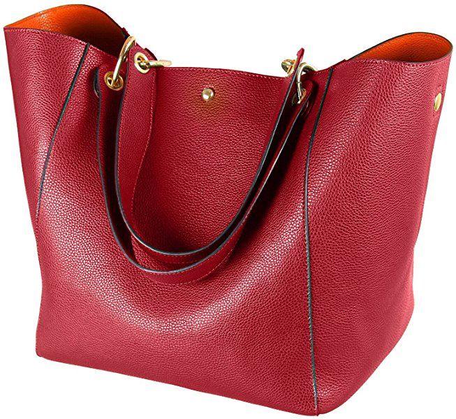 9315fe8fab7df1 Amazon.com: SQLP Women's Waterproof Handbags ladies Leather Shoulder Bag  Fashion Totes Messenger Bags: Shoes