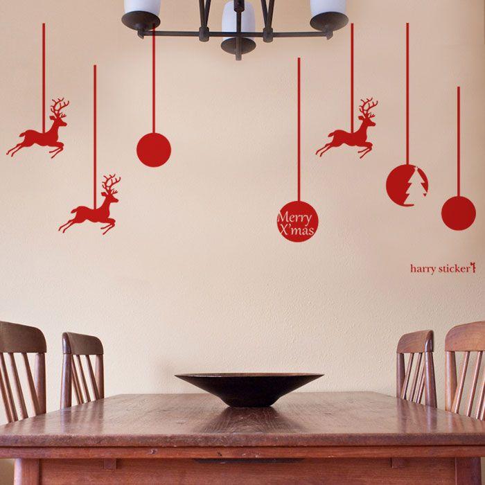 吊り飾り #ウォールステッカー#クリスマス#サンタクロース#サンタ#ツリー #SantaClaus#Christmas#tree#wallsticker