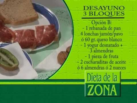 Dieta de a Zona: La primera semana en La Dieta de la Zona