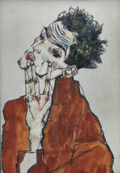 Egon-Schiele zelfportret