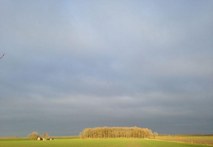 westpolder, in december