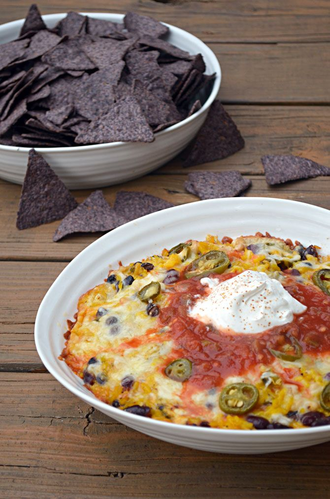 Cheesy Baked Rice n' Bean Dip (or Ricin Bean Dip if you're making it ...