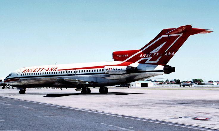 Ansett ANA Boeing 727-77 (VH-RMR)