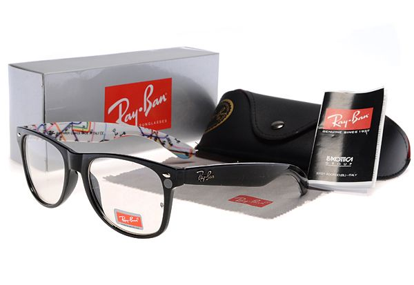New 2014 Ray Ban Wayfarer Black Colorful Sunglasses