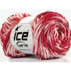 Flamme Color fonal piros-rózsaszín-burgundi