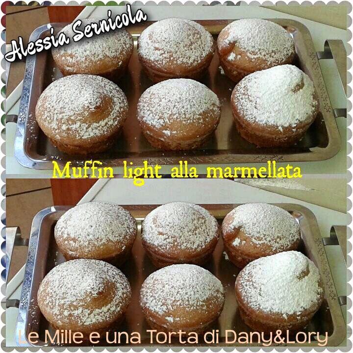 MUFFIN LIGHT CON MARMELLATA DI ALBICOCCHE