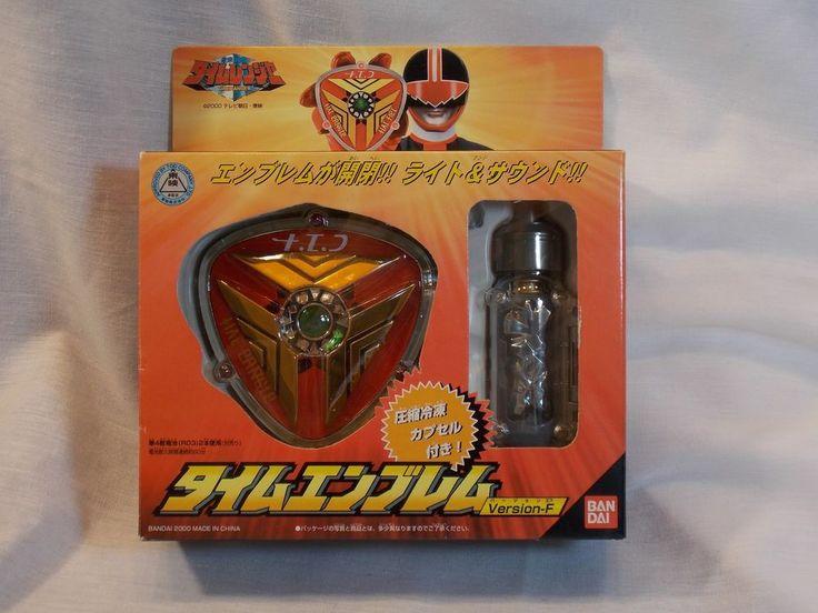Power Rangers Red Time Force Ranger Badge Morpher Version F - Bandai #Yutaka