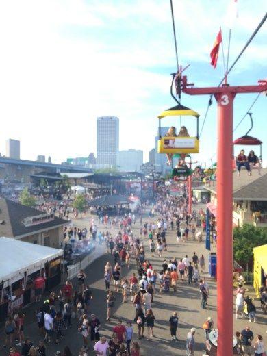 Summerfest. Milwaukee, Wisconsin.
