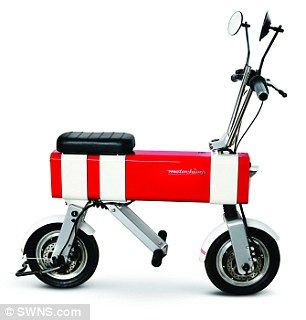 Motochimp is expected to arrive in the UK, Europe and the US after its release in Asia and cost around £1,300 ($1,600)