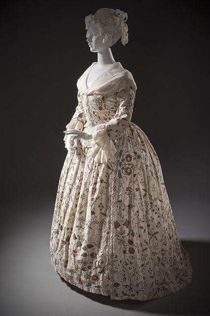 Платье английские ок  1760-1770: