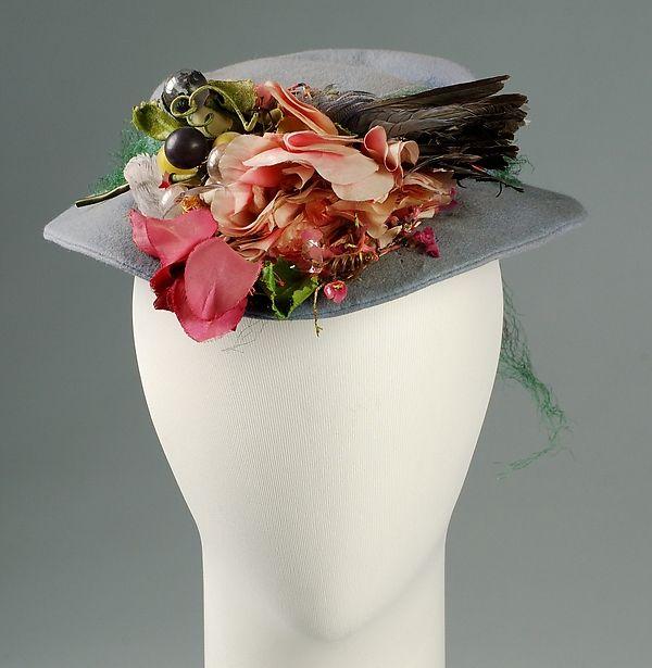 Sally Victor | Hat 1941| American | The Met
