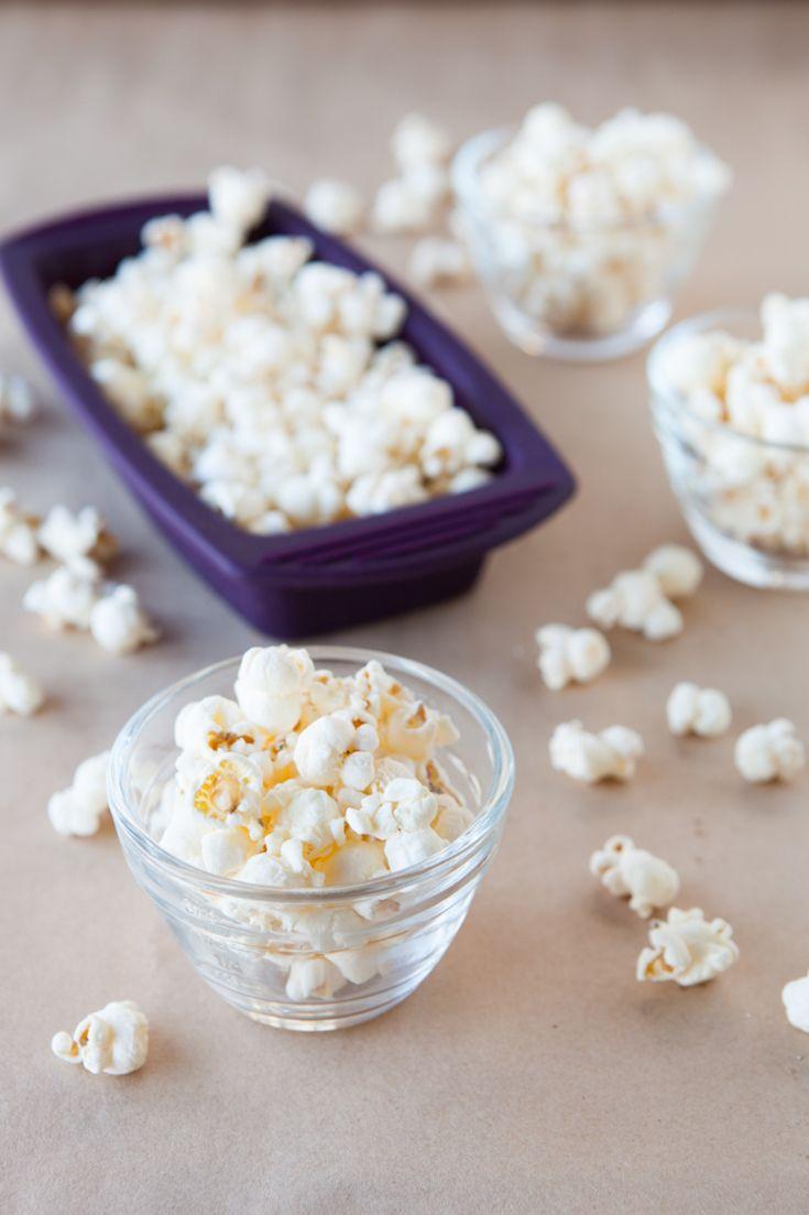 Silicone Steamer 2 Minute Popcorn