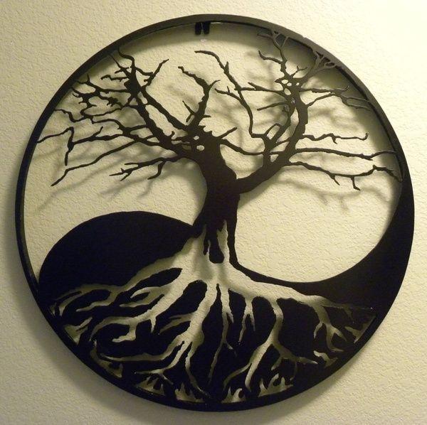 Yin-yang Tree of Life ♥ re-pinned by www.wfpcc.com