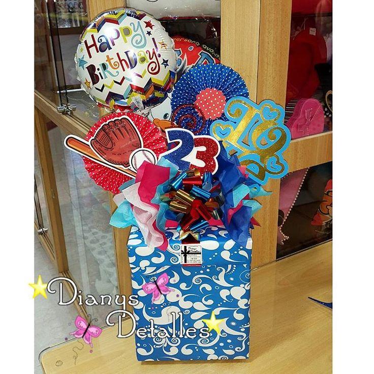 Felices 23 🎉🎁🎂 ⚾ Detalles que alegran el día 🤗 Para precios e información llamar al 0244-3956028 o dirigirse a la tienda 🏪 Los esperamos 😉 #dianysdetalles #unmundodedetallesyalgomas #cagua #ccstarcenter #felizcumpleaños #cumple #beisbol #globos