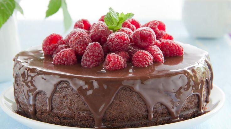 Chocoladetaart met frambozen | VTM Koken