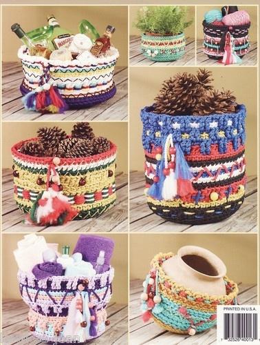 Crochet Native American Southwestern Baskets (book)