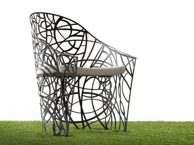 Meubles de jardin design qui donnent envie de rester dehors | Fer ...