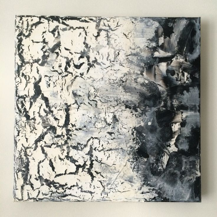 Acrylic abstract painting on canvas. #art #canvas #acrylic #abstract #painting
