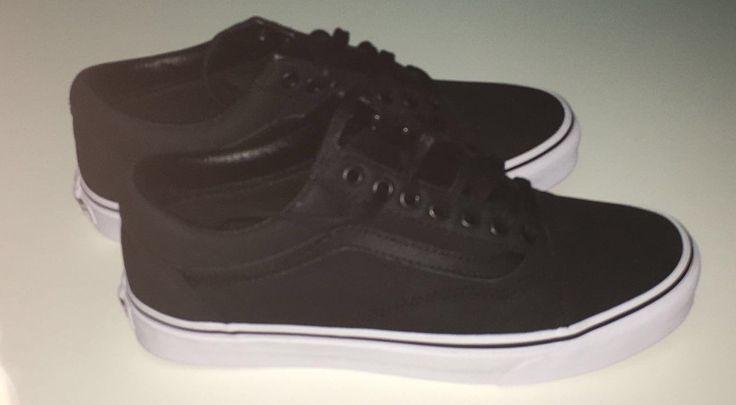 VANS Unisex-Erwachsene Sk8-Hi Reissue Low-Top | Schwarz ((Premium Leather) black/true white)