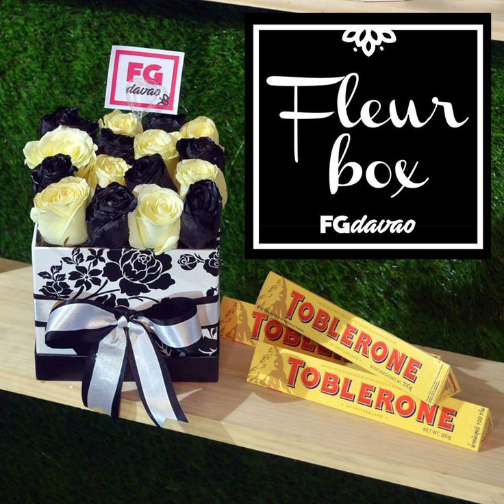 Black and White Roses Fleur Box and Chocolates  Flowers Gifts Delivery www.FGDavao.com 0998 579 5720  #fleurbox #fluers #flowerbox #boxofflowers #blackandwhite #flowersandgifts #flowersandgiftsdelivery #sendgifts #giftsdavao #giftsph #fggifts #fgdelivery #giftshop #flowershop #flowers #flowersdavao #flowersph #florist #davao #ph