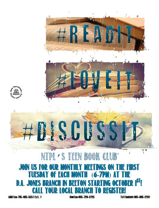Phrase and teen author clubs