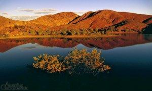 Images of Australia: Aroona Dam, Flinders Ranges, South Australia