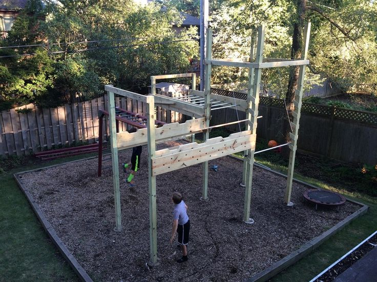 Backyard Ninja Warrior Plans : Are you as fit as an American ninja? This DIY American Ninja Warrior
