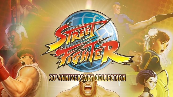 STREET FIGHTER 30th Anniversary Collection Trailer (PS4/Xbox One/PC/Nint...