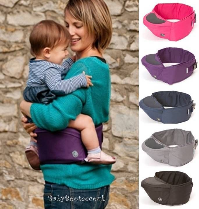 NEW Hippychick Hip Seat Baby Child Toddler Carrier Hipseat Black Grey Pink Blue in Baby, Baby Carriers/ Backpacks | eBay