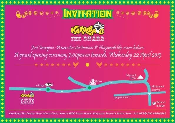 Karolbaug Invitation Karolbaug The Dhaba Branding Branding