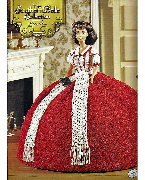 ... Crochet Pattern Annies Attic Holiday Dresses, Belle and Fashion