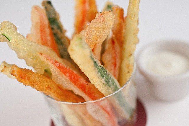 Cómo hacer una buena tempura | Recetas de Cocina Casera - Recetas fáciles y sencillas